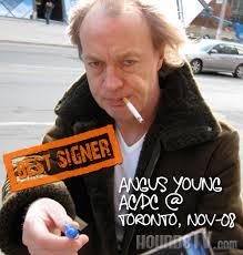 acdc autograph
