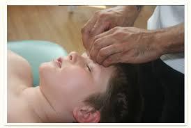 massage child