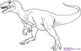dinosaur pictures to color