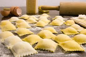 fresh ravioli