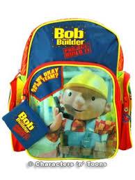 bob the builder back pack