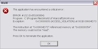 computer error messages
