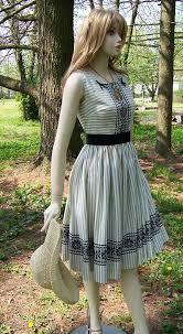 vintage dress 50s