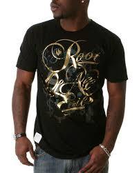 gold foil t shirt
