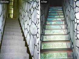 painting basement stairs