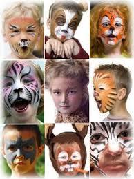 face paint kids
