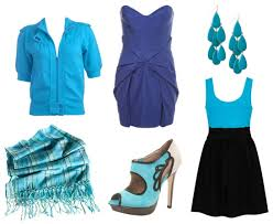 clothes blue