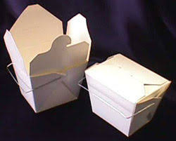 chinese carry out boxes