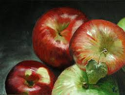 apples paintings