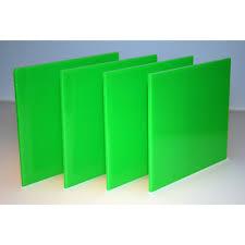 green acrylic