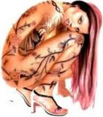 feminine tattoo art