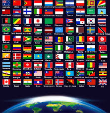 international flags of the world