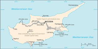 island of cyprus map