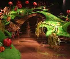chocolate river