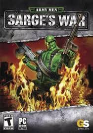 army men sarges war ps2
