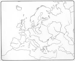 blinde kaart europa