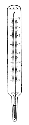 termometro clinico
