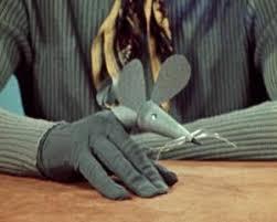 finger mouse puppet