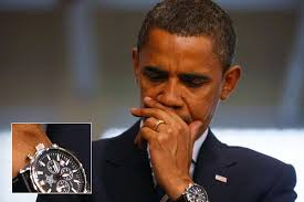 barack obama wrist watch