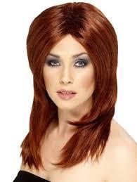 brown auburn hair