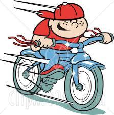 bike riding clip art