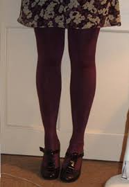 aristoc wet look tights