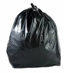 black bin liner