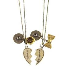 best friend necklaces claires
