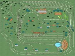ho scale track layouts
