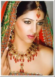 indian bride make up