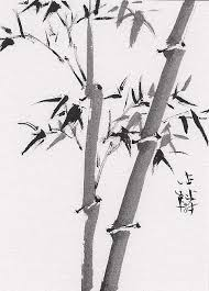 chinese brush painting bamboo