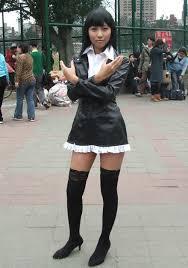 black cosplay