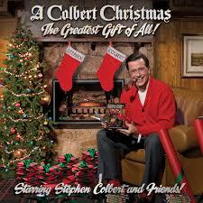 a colbert christmas cd
