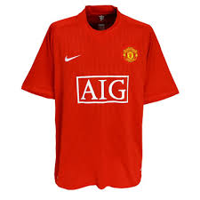man united football shirt