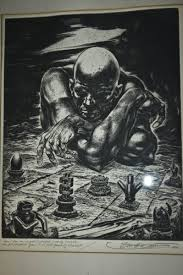 etching painting