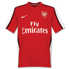 arsenal kits 08 09