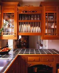 kitchen cabinets plate rack