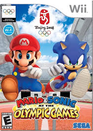 mario and sonic at the olympic games on wii