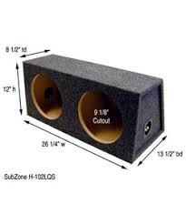 10 inch subwoofer boxes