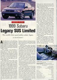 1999 subaru legacy sus