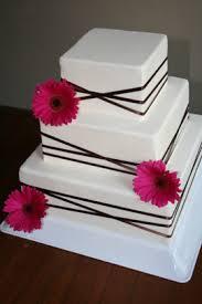 gerbera daisy wedding cakes