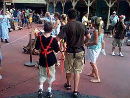 harness child