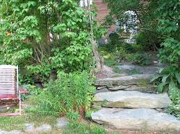 landscaping stone steps