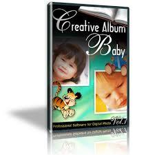 creative album baby