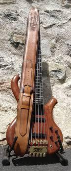 custom made bass guitar