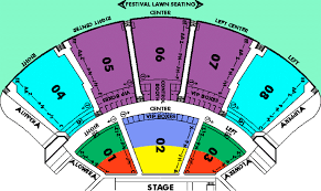 cruzan amphitheater seating chart