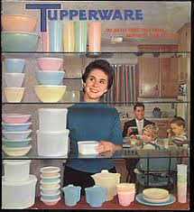 old tupperware