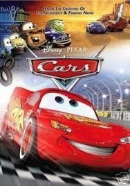 cars disney dvd