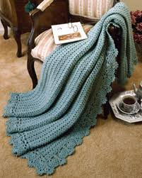 crochet throw patterns