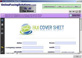 fax cover sheet ideas